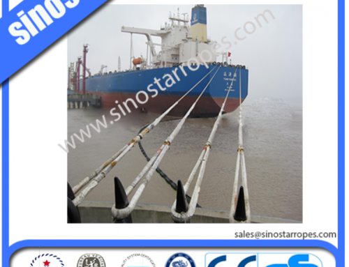 SAMSON high strength cables are used the application of maritime salvage